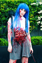 Dead Rika Furude by DavidKanePhotography
