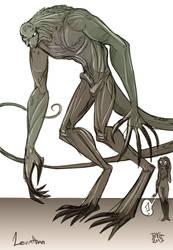 Leviathan, Endbringer by Drunkfu