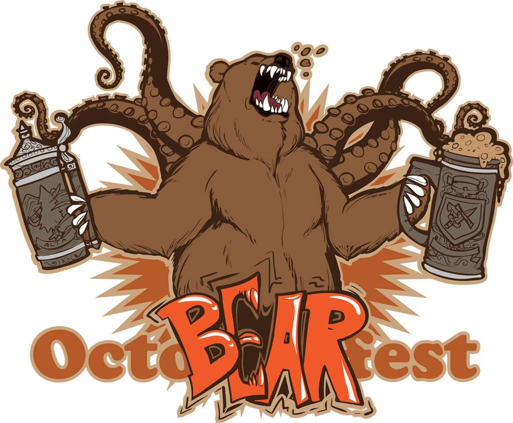 OCTO-BEAR-fest shirt design!