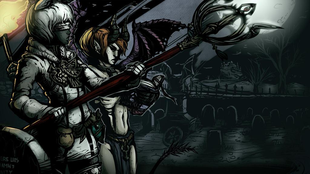 Darkest Niamh and Enfys