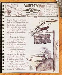 Vault Dwellers Diary page 40 by Drunkfu