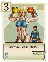 Bear Arms perk card by Drunkfu