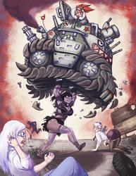 Super Golem vs Tank Yuri
