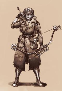 Sneni the post apocalyptic archer