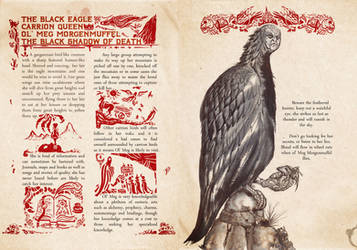 Black Blood of Joshua Bestiary Carrion Queen