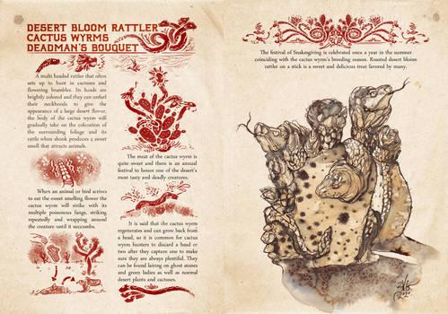 Black Blood of Joshua Bestiary Cactus Wyrms