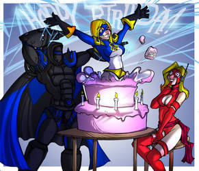 BuckeyeThor Birthdaypresent by Drunkfu