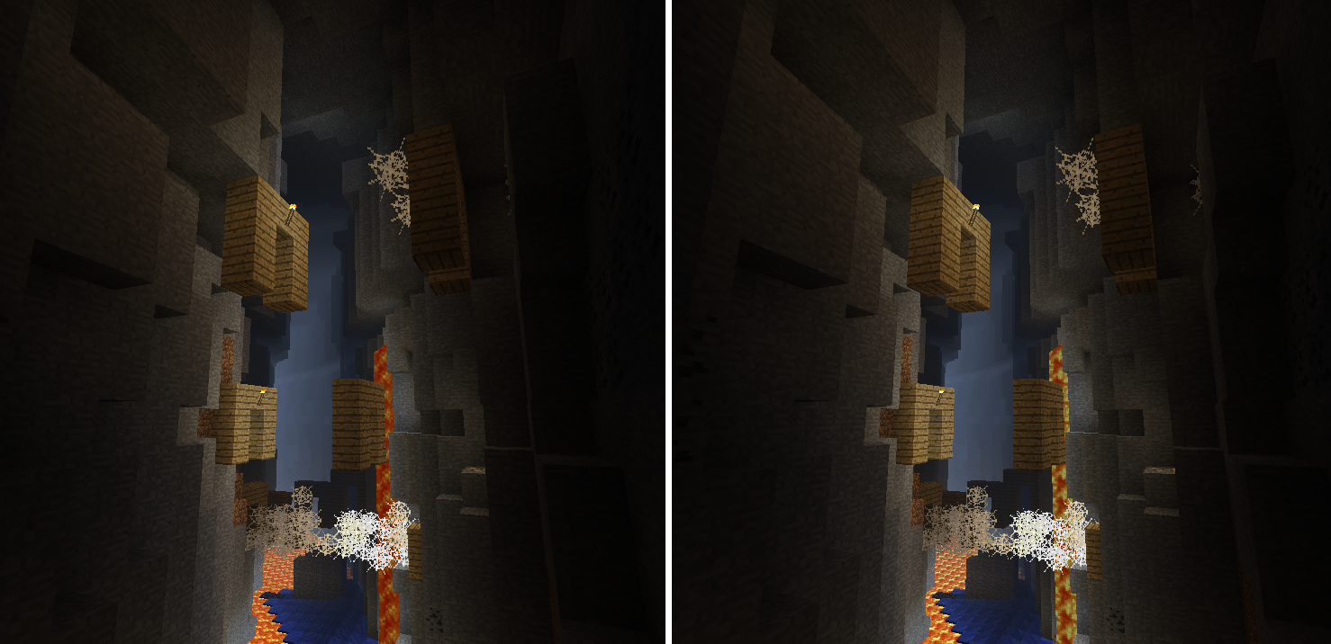 A Beautiful Stereoscopic Cross Eye 3d Photo I Found Of A Ravine Minecraft