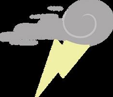 Vector: Thunderlane's cutiemark by Chiramii-chan