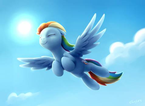 Rainbow (with timelapse!)