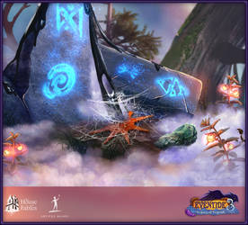 Eventide 3: Legacy of Legends - game art by pctrx