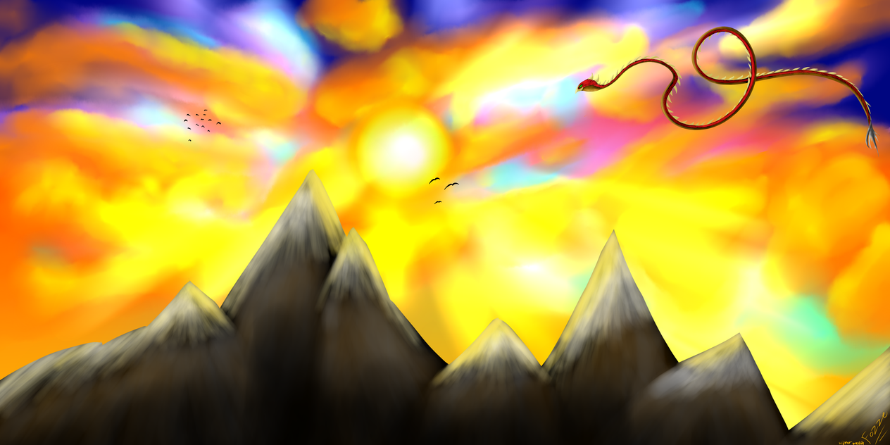 Must see Wallpaper Mountain Sun - mountain_sun_wallpaper_by_fozze-daf861q  Best Photo Reference_311916.png