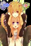 Cute neko Couple