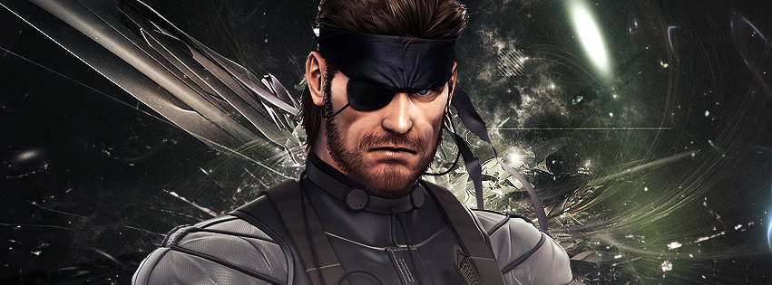 Naked Snake Big Boss Facebook Portrait By Guille Org 98