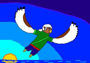Kiki - Spreading her Wings by luigiandmarioisawsom