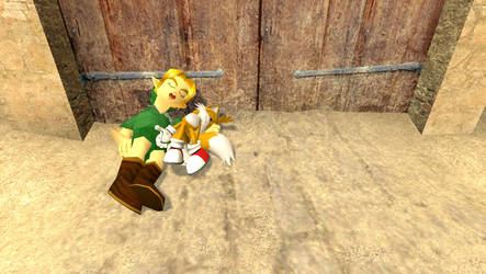 Young Link with Tails