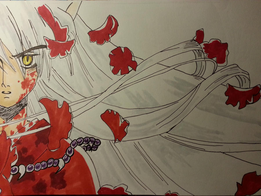 Bloody Inuyasha by KurumiAiren
