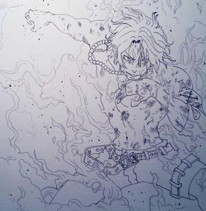 Portgas D. Ace Sketch