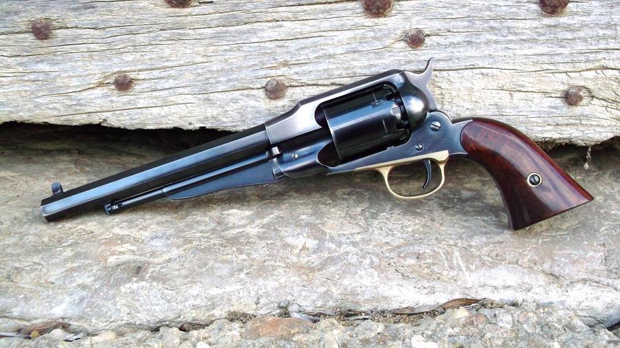 remington 1863 new model army by hombre-nuevo