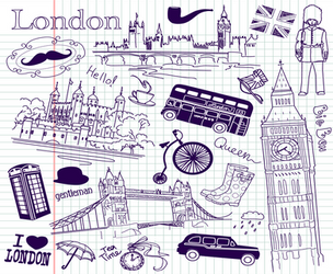 London-England-Doodles