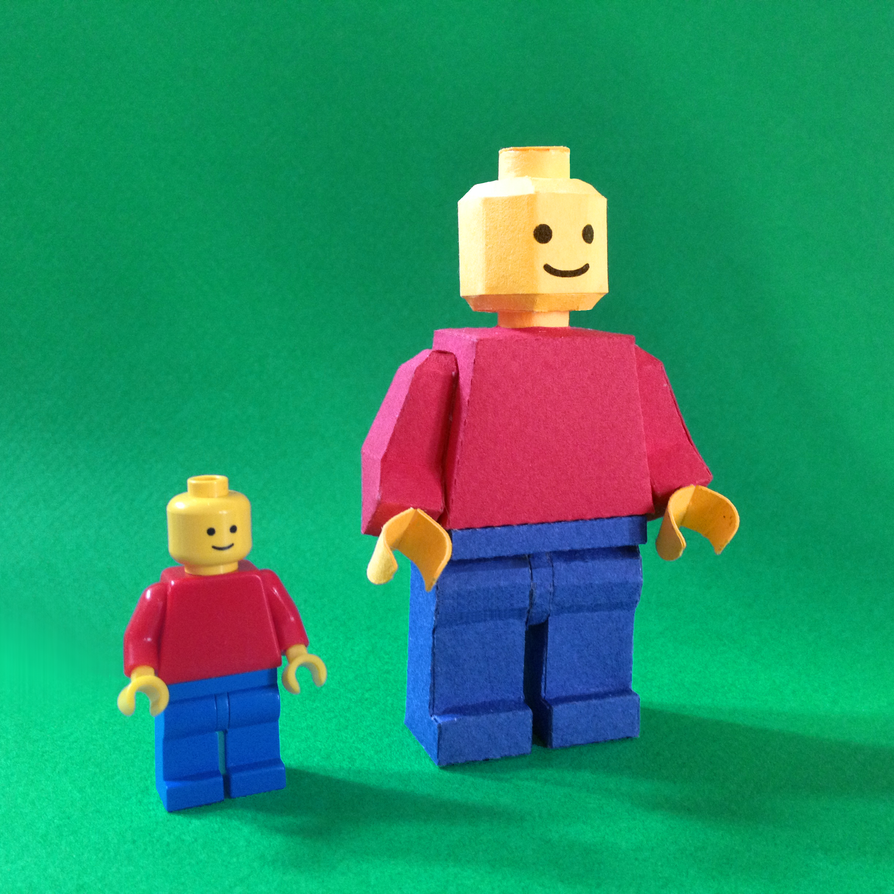 LEGO paperfigures by kspudw