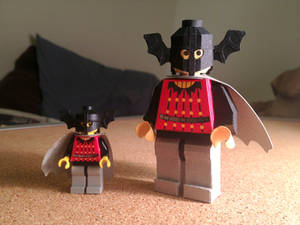 LEGO paperfigures Bat Lord