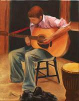 Guitar by kspudw