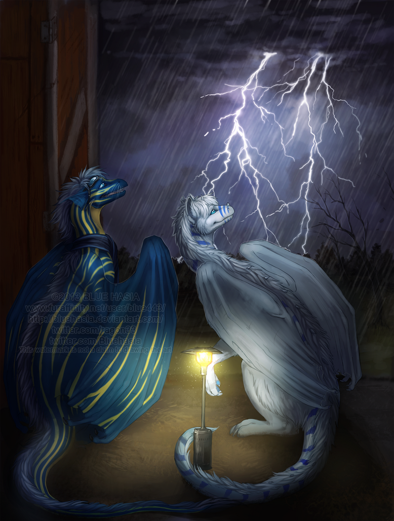 Storm watchers [w] by Bluehasia