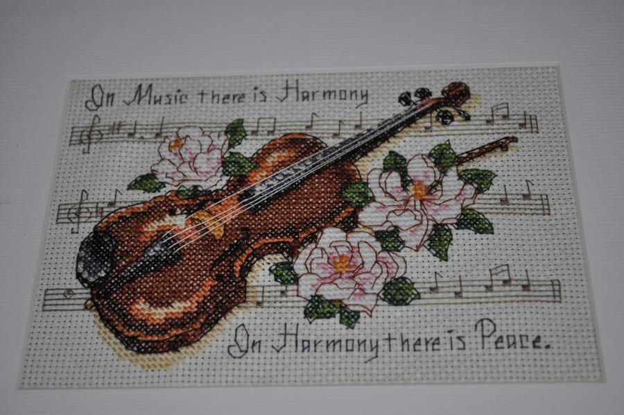 Music is Harmony f by Marebear-bear