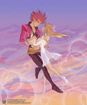 Sky Dance by red-winged-angel