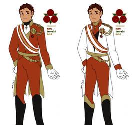 F:SaF - Leone's royal uniform concepts