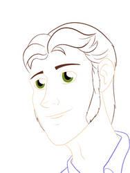 Frozen - Hans' gentle smile [lineart]