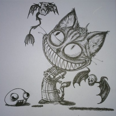 :: NEW Awful Mad Kitty :: by LaughingSquid