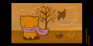 autumn by LaughingSquid