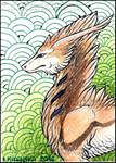 ACEO Whitew3r3wolf