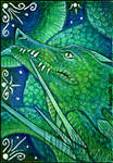 ACEO December by LadyFromEast