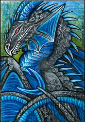 ACEO: February 2021 - Darkfire