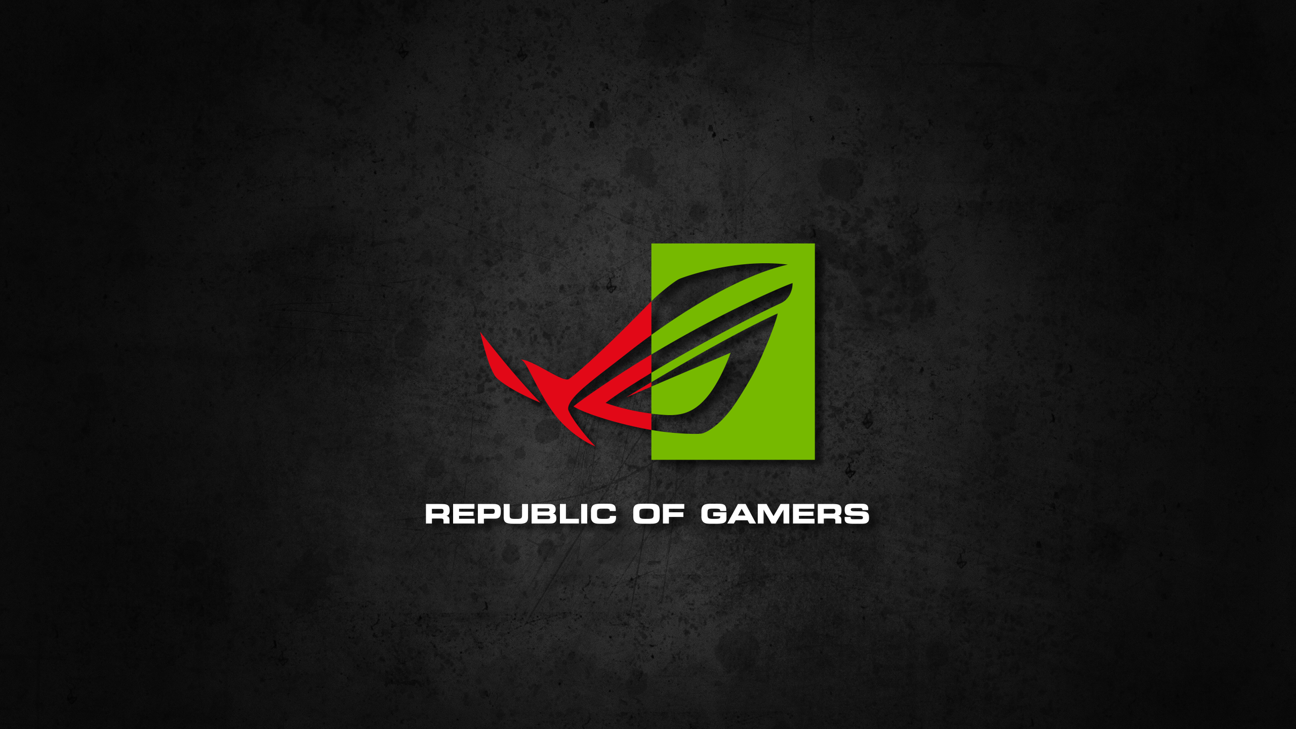 republic of gamers nvidia wallpaper by biosmanager on