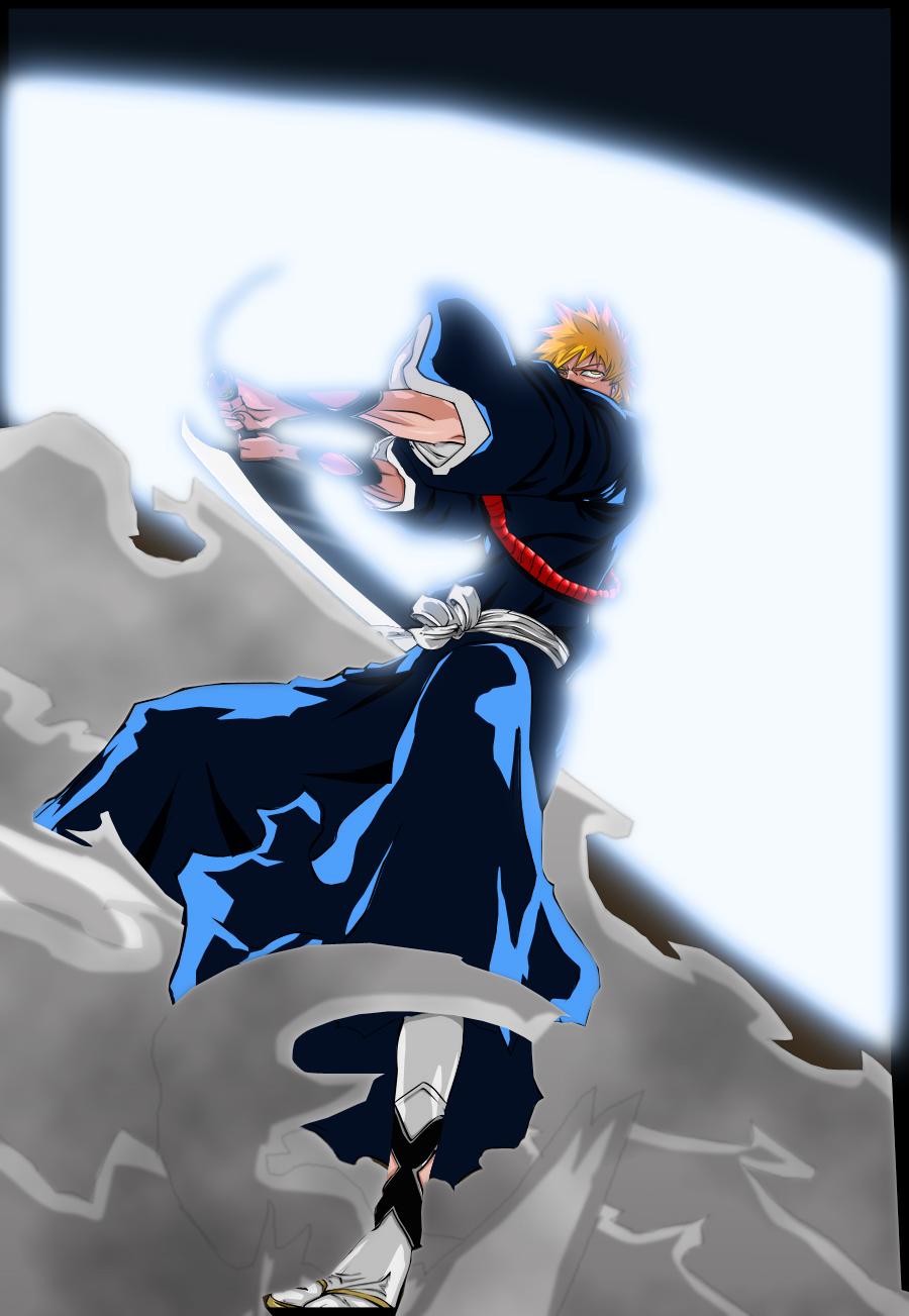 Bleach 461 Getsuga Tenshou By Salty Art