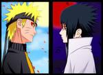 Naruto and Sasuke