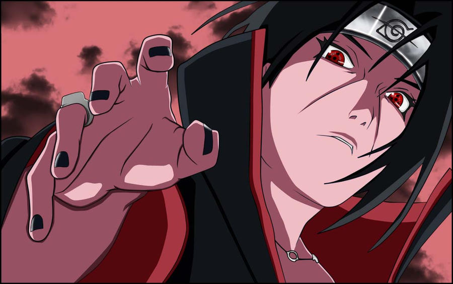 Uchiha Itachi by Saltyart on DeviantArt