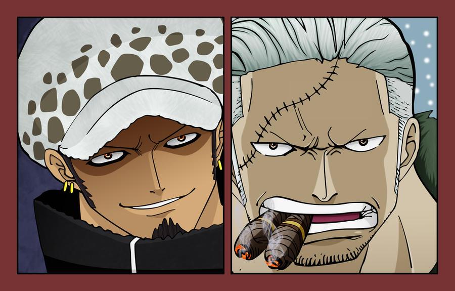 One Piece 659-Law vs Smoker by Salty-art