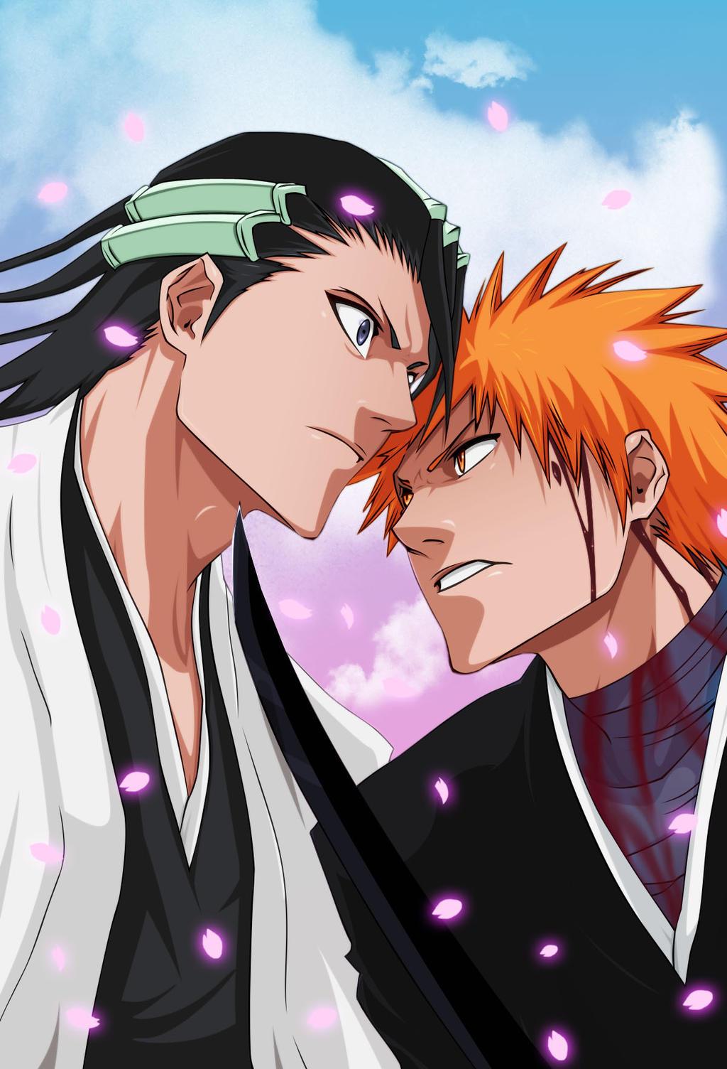 what episode does ichigo meet byakuya