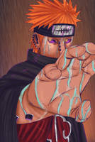 Naruto 436 - Pain by Salty-art