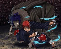 Naruto 266 - Sasori kazekage by Salty-art