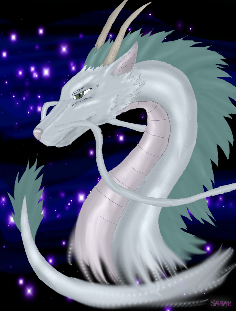 Spirited Away Dragon by DemonAnima on DeviantArt