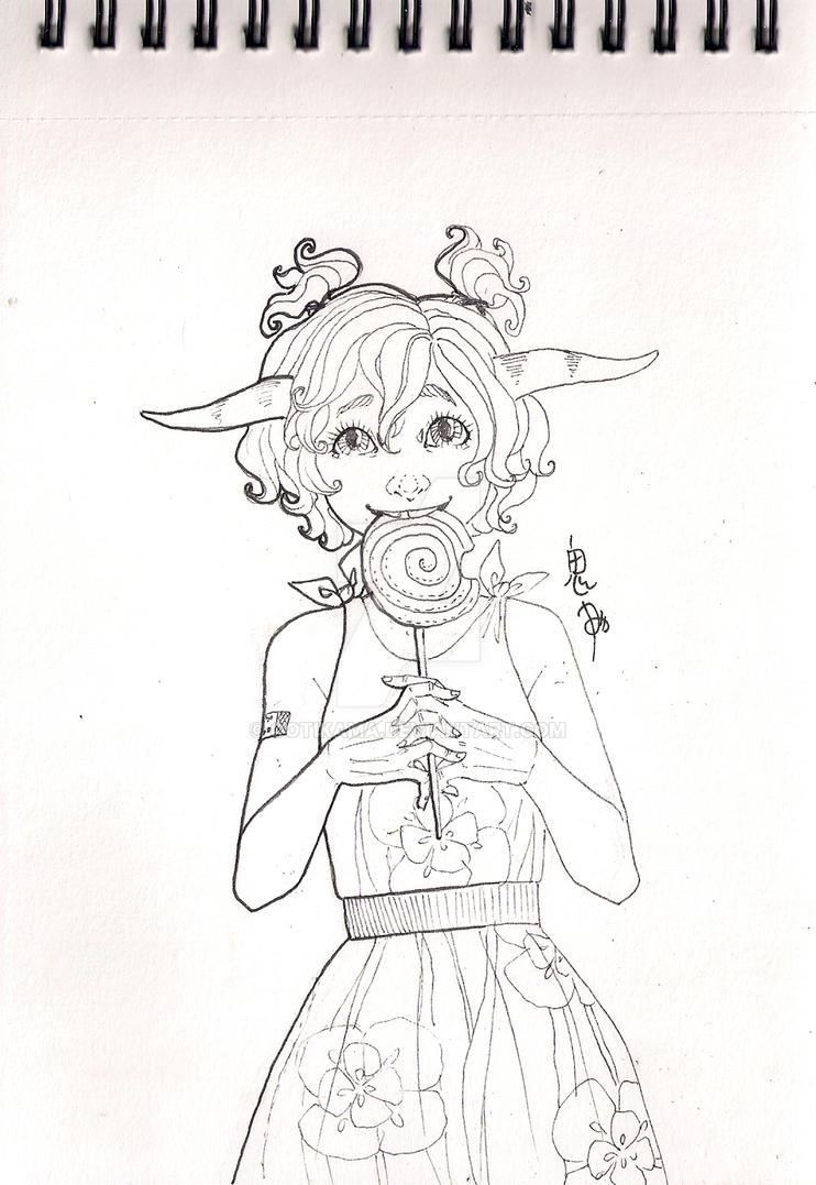 Saina by gotikama