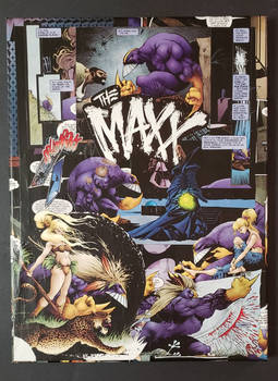 The Maxx: Maxxed Out Comic Collage IDW Publishing