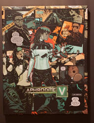 Aphrodite V Comic Collage