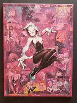 Spider-Gwen: Ghost-Spider Comic Collage